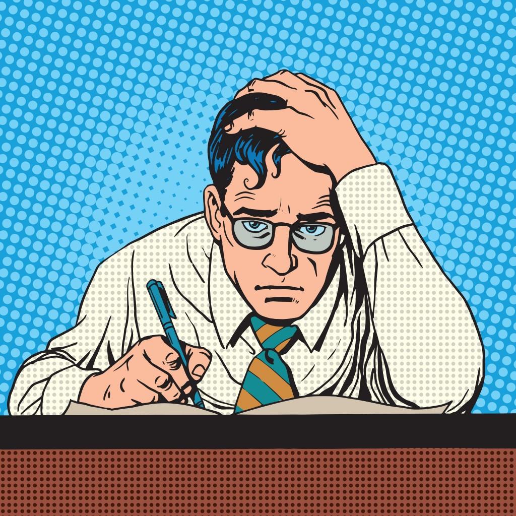 Struggling to Write 1024x1024 - OEA's Chronic Mental Stress Webinar